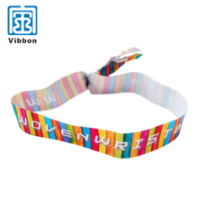 Popular Quality-Assured Professional Made Polyester Satin Wristband