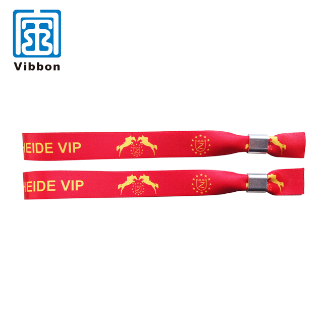 New Style Cheap Price Hot Sale Event Gifts Satin Wristbands For Promotion