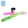 Factory Supply Waterproof Custom Made PVC Silicone Ruler Slap wristband