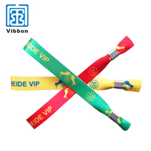 Personalized colorful printing satin ribbon wristband/bracelet for promotion